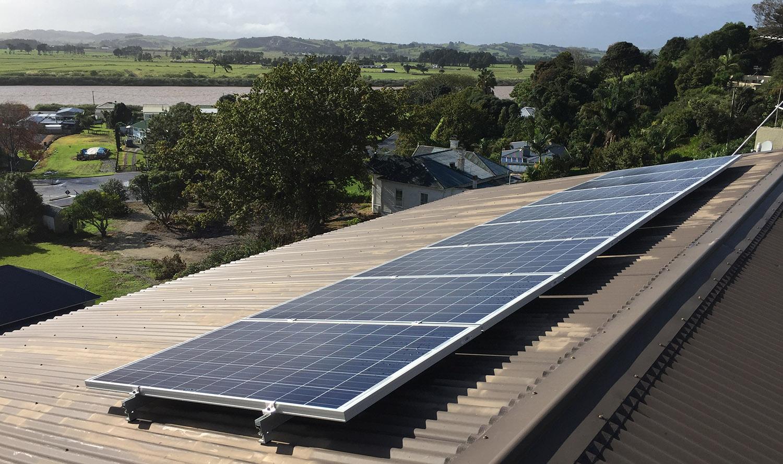 system grid solar mount off services honokaa renewable science in centre img island tank water power installed big energy inc storage hi mitsubishi panels portfolio